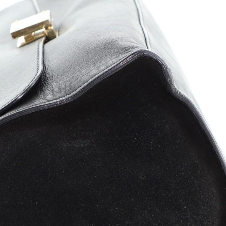 Celine Trapeze Bag Leather Medium For Sale 3