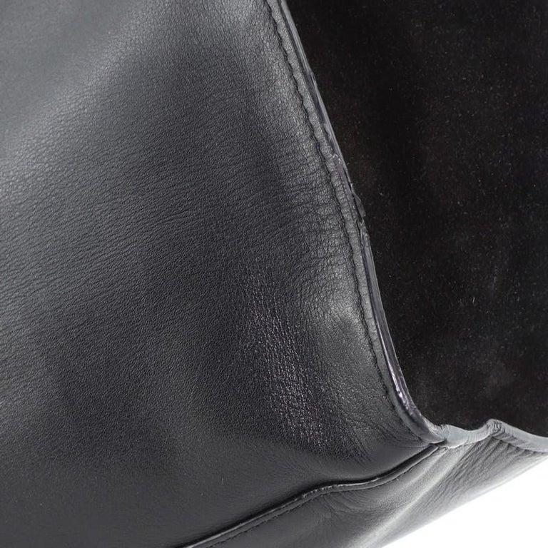 Celine Trapeze Bag Leather Medium For Sale 4
