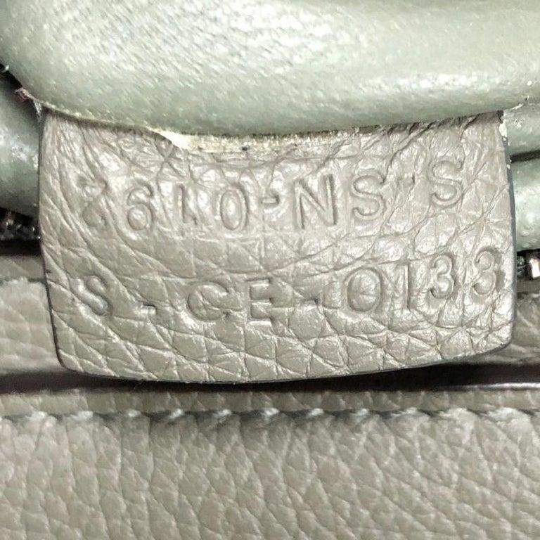 Celine Trapeze Bag Leather Medium 4