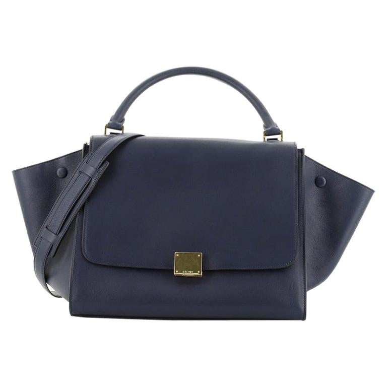Celine Trapeze Bag Leather Medium For Sale