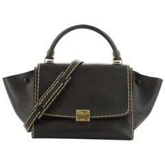 Celine Trapeze Bag Leather Small
