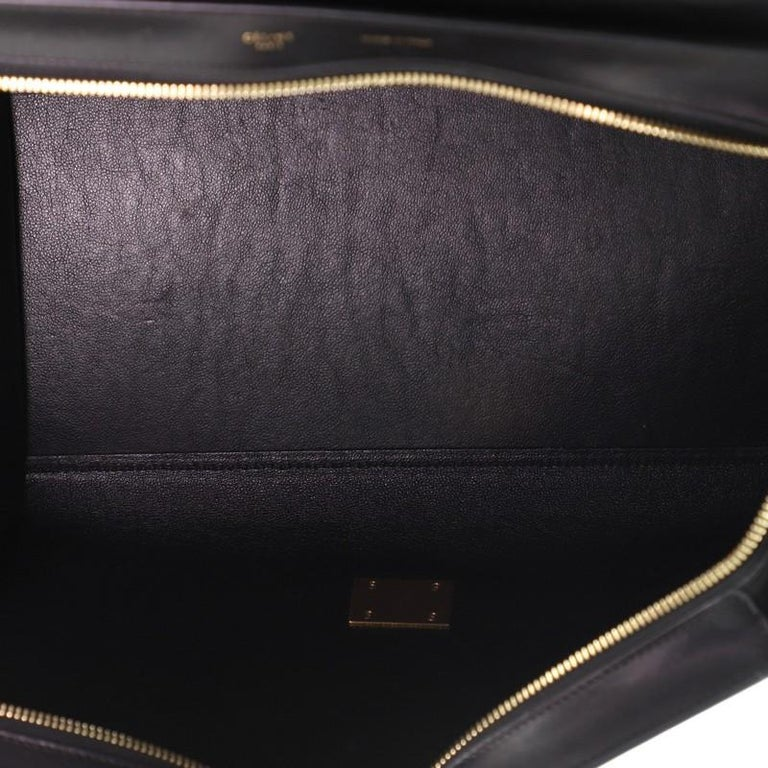 Celine Trapeze Bag Python and Leather Medium For Sale 1