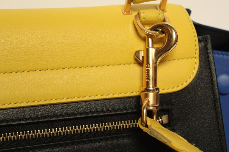 Celine Trapeze Handbag In Good Condition For Sale In Melbourne, Victoria