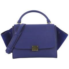 Celine Trapez Handtasche Leder Medium