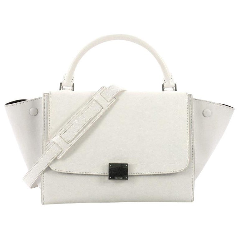ae4072a02bb4 Celine Trapeze Handbag Leather Small For Sale at 1stdibs