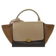 Céline, Trapeze in brown leather