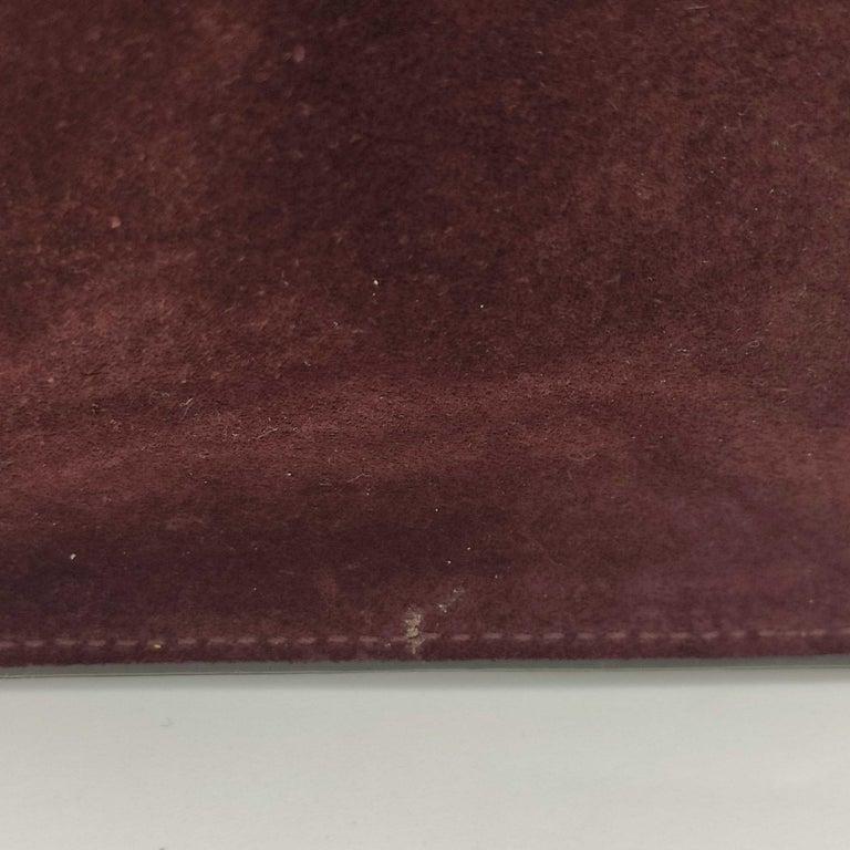 CÉLINE Trapeze Shoulder bag in Burgundy Leather For Sale 3