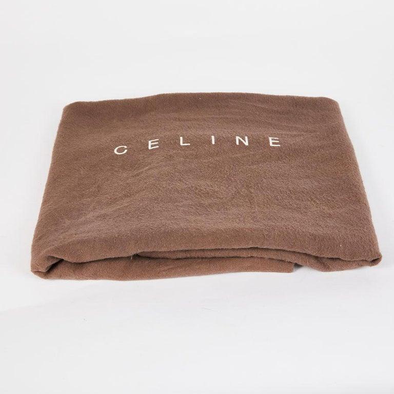 CELINE Travel Bag in Ice Browned Mississipi Alligator For Sale 11