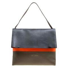 Celine Tri Color Leather All Soft Bag
