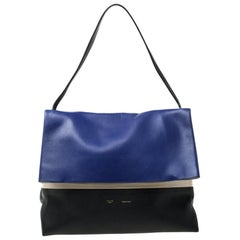 Celine Tri Color Leather All Soft Shoulder Bag
