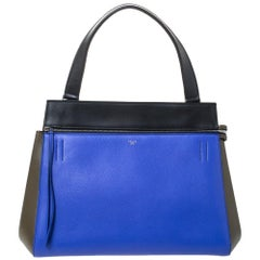 Celine Tri Color Leather Medium Edge Bag