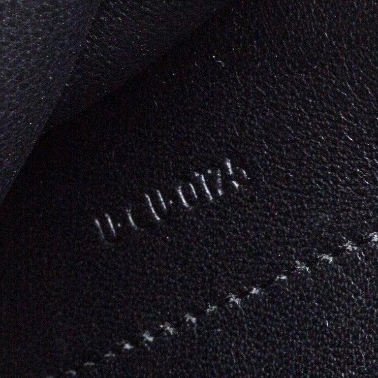 Celine Tri Color Leather Medium Pocket Chain Shoulder Bag For Sale 6