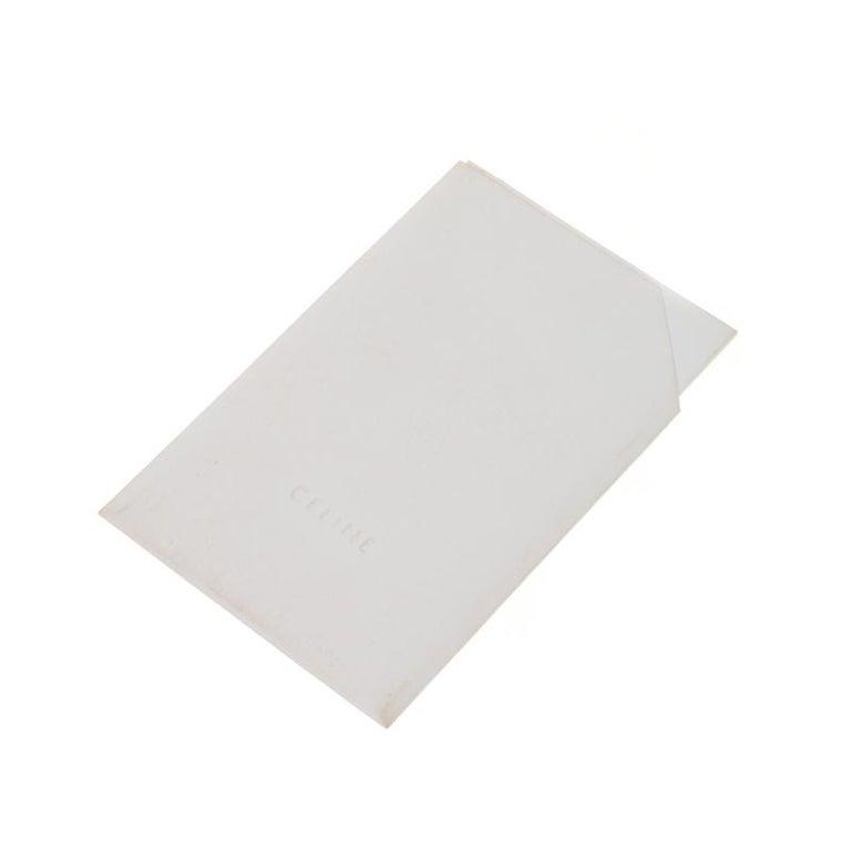 Celine Tri Color Leather Medium Trapeze Bag For Sale 3