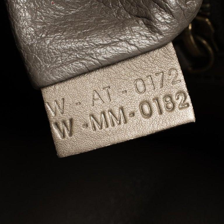 Celine Tri Color Leather Mini Luggage Tote For Sale 8