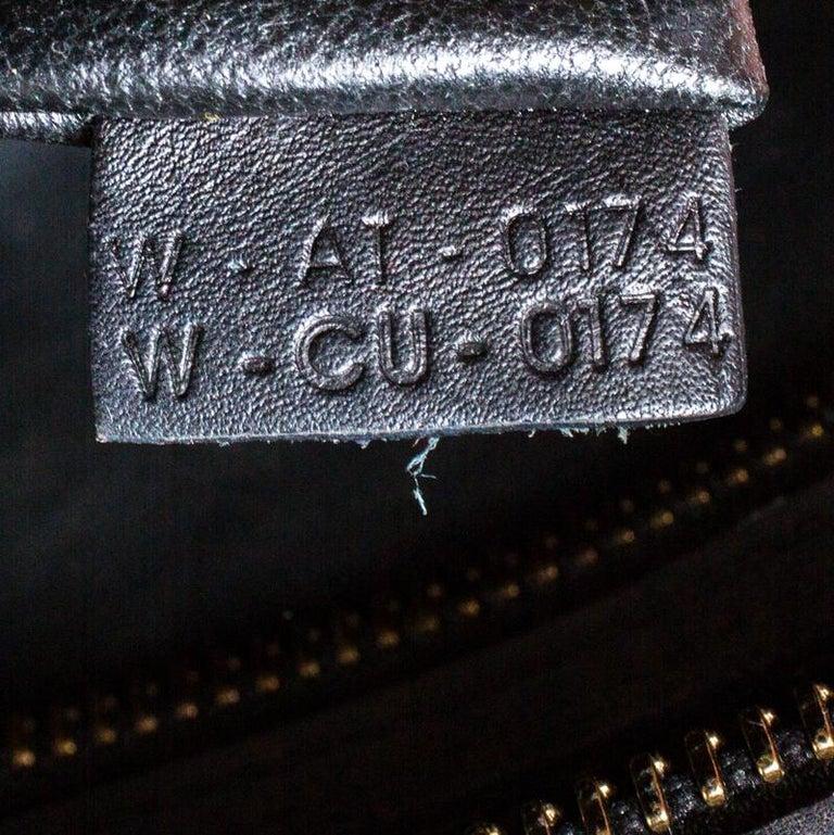 Celine Tri Color Leather Mini Luggage Tote For Sale 2