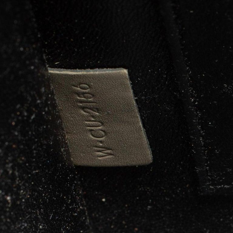Celine Tri Color Leather Nano Luggage Tote For Sale 7
