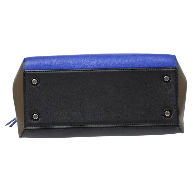 Céline Tri Color Leather Small Edge Bag For Sale 7