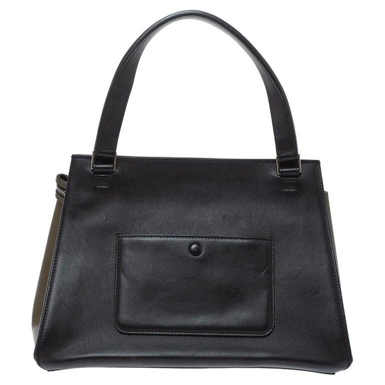 Céline Tri Color Leather Small Edge Bag In Good Condition For Sale In Dubai, Al Qouz 2