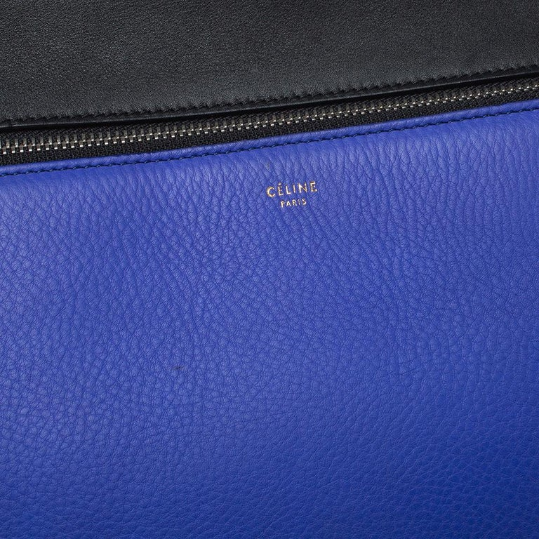 Women's Céline Tri Color Leather Small Edge Bag For Sale