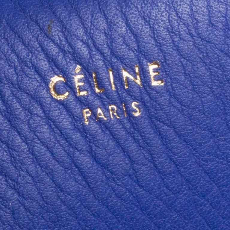 Céline Tri Color Leather Small Edge Bag For Sale 1