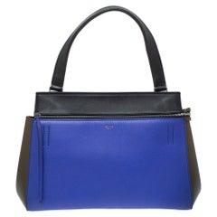 Céline Tri Color Leather Small Edge Bag