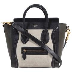 Céline Tri Color Nano Luggage Bag