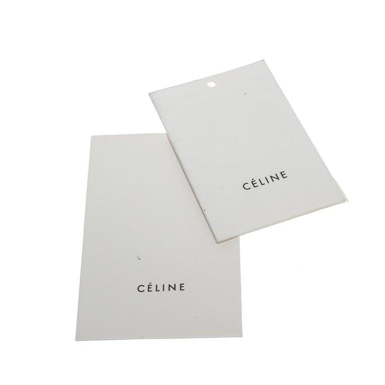 Celine Tri Color Nubuck and Leather Medium Trapeze Bag For Sale 2