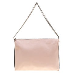 28a79ace9 Celine Tri-Fold Clutch on Chain Smooth Leather at 1stdibs