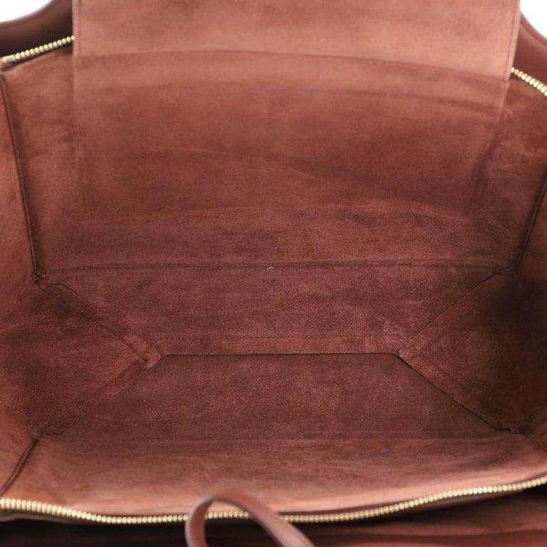 Celine Tri-Fold Shoulder Bag Smooth Calfskin Medium For Sale 1
