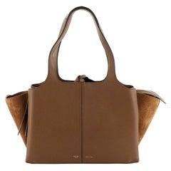 Celine  Tri-Fold Shoulder Bag Smooth Calfskin Small