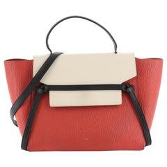 Celine Tricolor Belt Bag Leather Mini