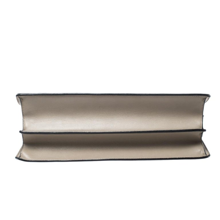 Women's Celine Tricolor Leather and Calfhair Medium Diamond Shoulder Bag For Sale