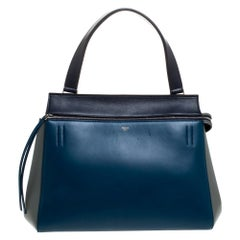Celine Tricolor Leather Medium Edge Bag