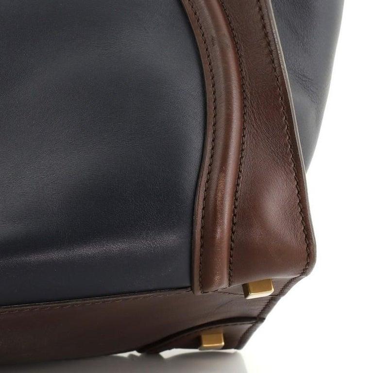 Celine Tricolor Luggage Bag Leather Mini For Sale 2