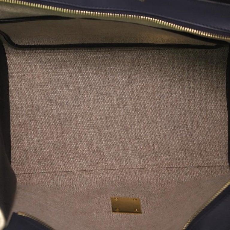 Women's or Men's Celine Tricolor Trapeze Bag Leather Medium