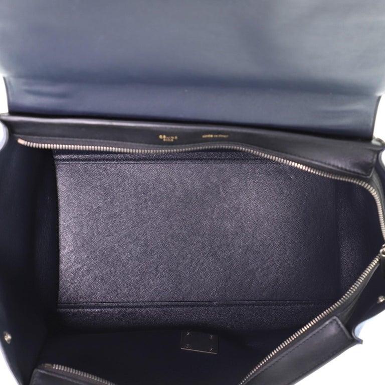 Celine Tricolor Trapeze Bag Leather Medium For Sale 1
