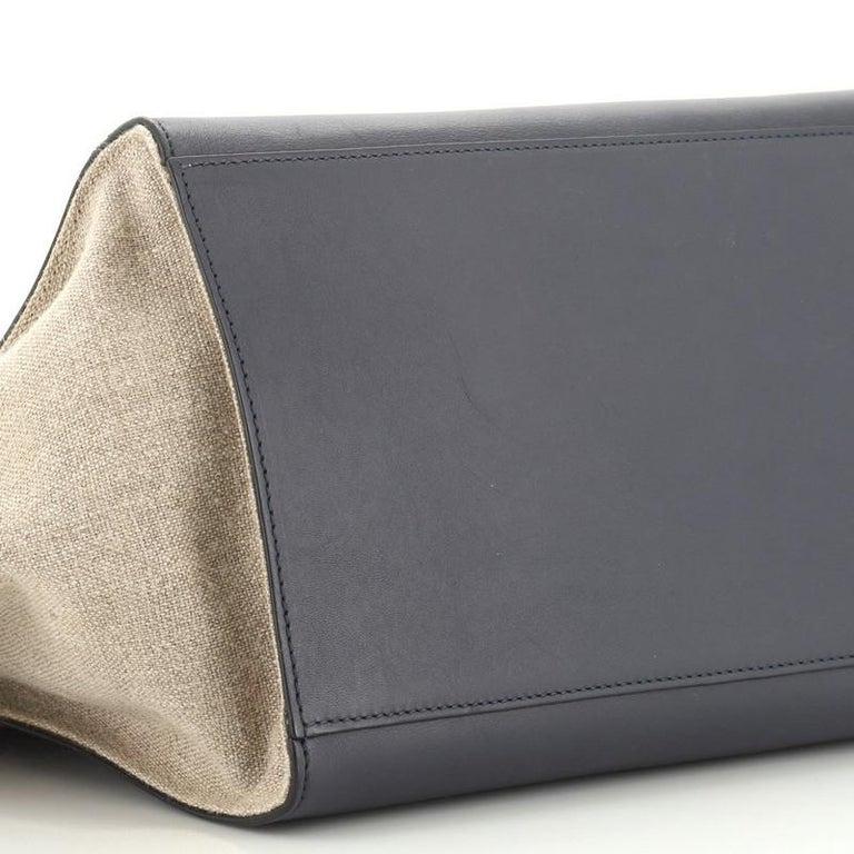 Celine Tricolor Trapeze Bag Leather Medium  1