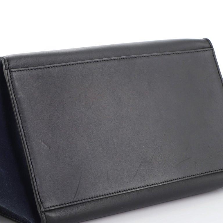 Celine Tricolor Trapeze Bag Leather Medium For Sale 2