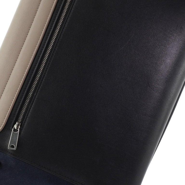 Celine Tricolor Trapeze Bag Leather Medium For Sale 3