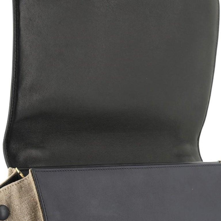 Celine Tricolor Trapeze Bag Leather Medium  3