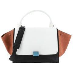 Celine Tricolor Trapeze Bag Leather Medium