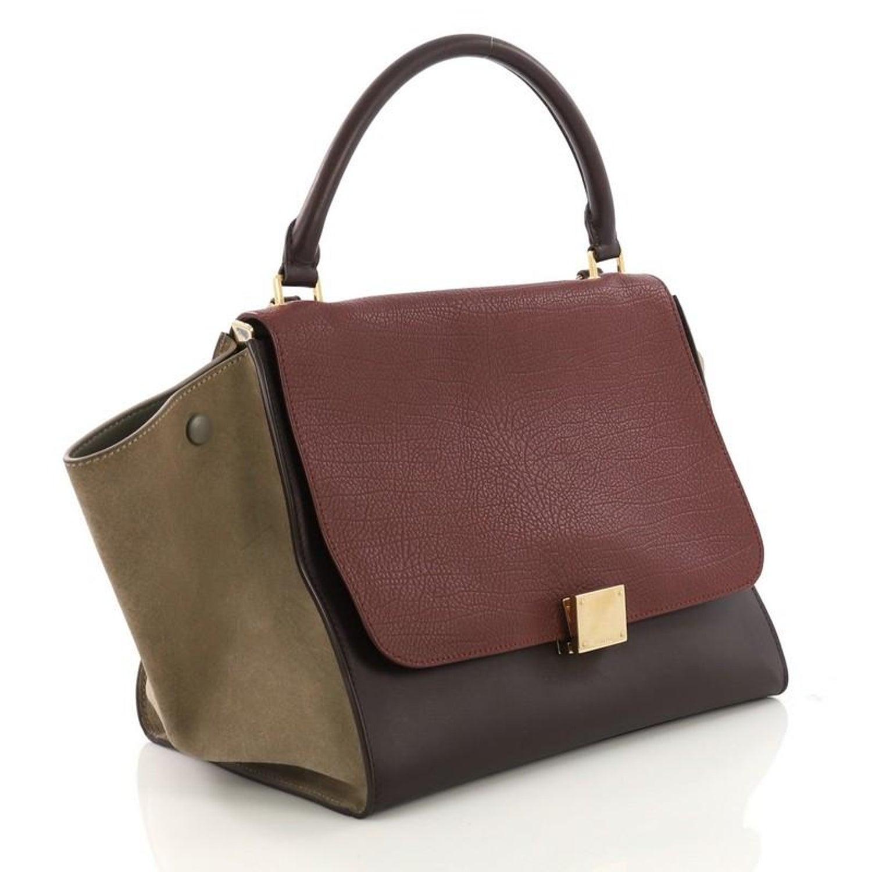 befe9d9019 Celine Tricolor Trapeze Handbag Leather Medium at 1stdibs