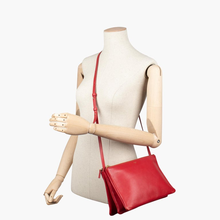 Celine Trio Crossbody Bag For Sale 6