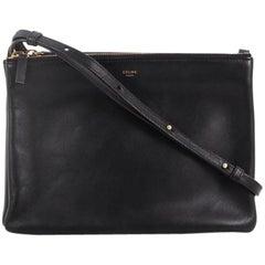 Celine Trio Crossbody Bag Leather Large