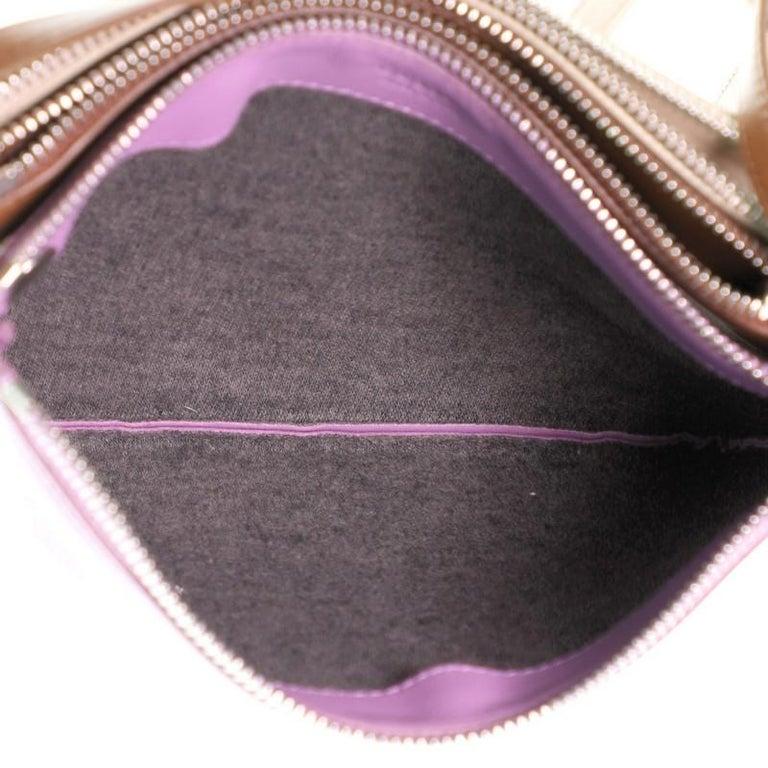 Celine Trio Crossbody Bag Leather Small For Sale 2