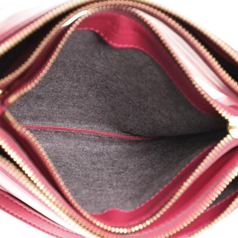 Celine Trio Crossbody Bag Leather Small For Sale 1