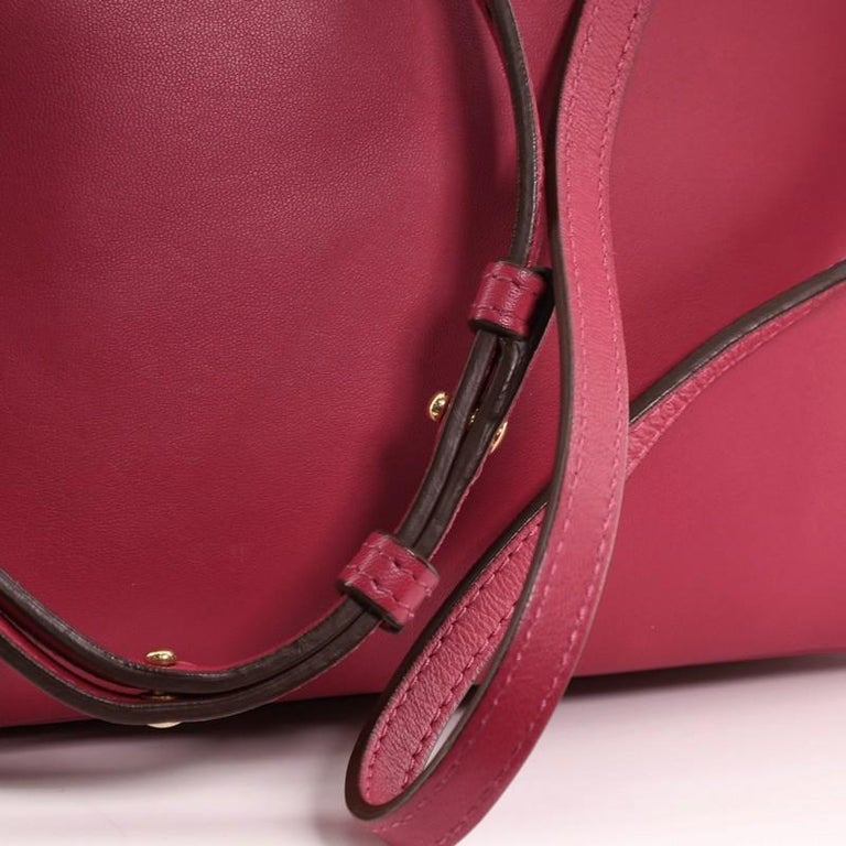 Celine Trio Crossbody Bag Leather Small For Sale 4