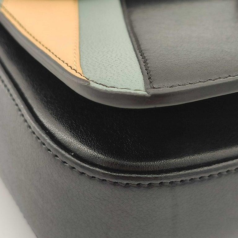 CÉLINE Triomphe Shoulder bag in Multicolour Leather 5