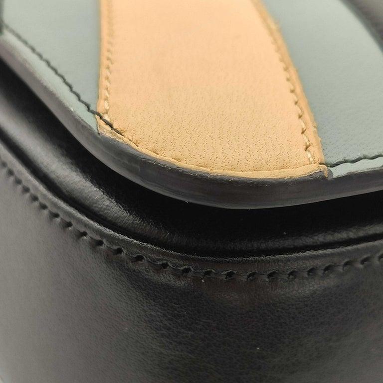 CÉLINE Triomphe Shoulder bag in Multicolour Leather 7