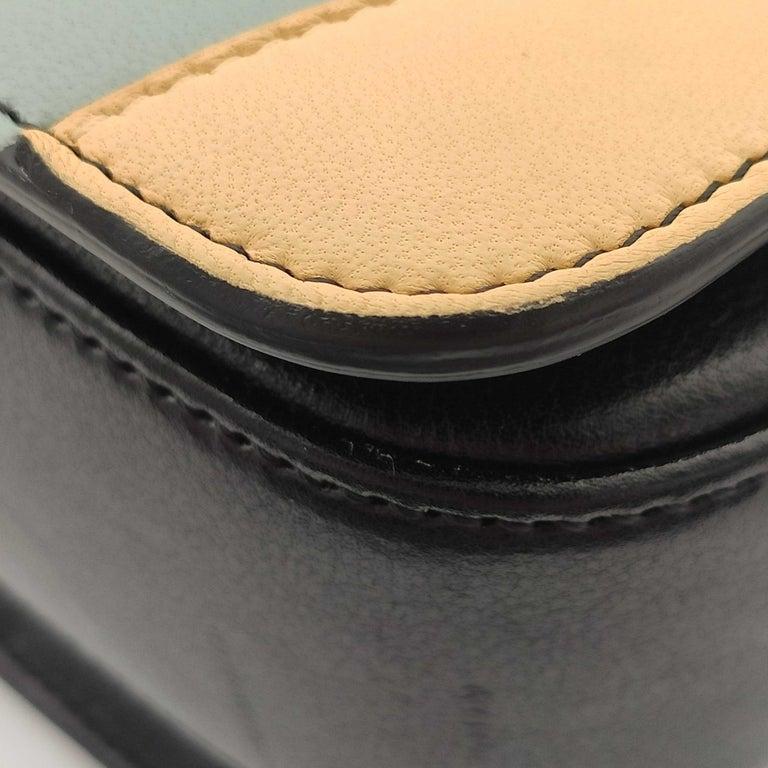 CÉLINE Triomphe Shoulder bag in Multicolour Leather 8